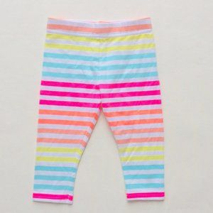 Other - Neon Striped Leggings